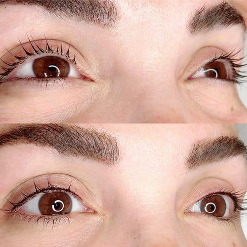 micropigmentacao com delineado fino nos olhos
