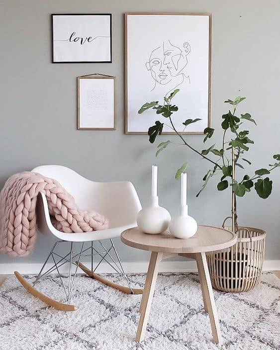 Cadeira Eames pode ser uma otima opcao para sua sala ou varanda