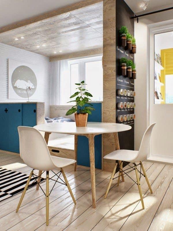 Cadeira Eames pode ser utilizada em qualquer tipo de decoracao