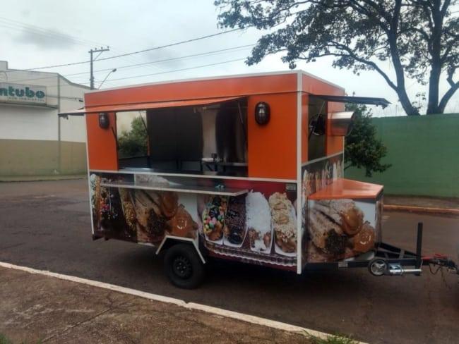 Food Truck de churros oferece diferencial por ser montado em qualquer lugar