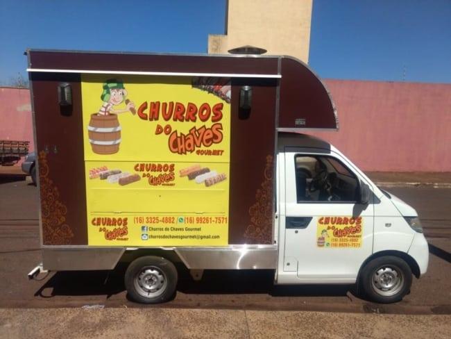 Food Truck de churros personalizado
