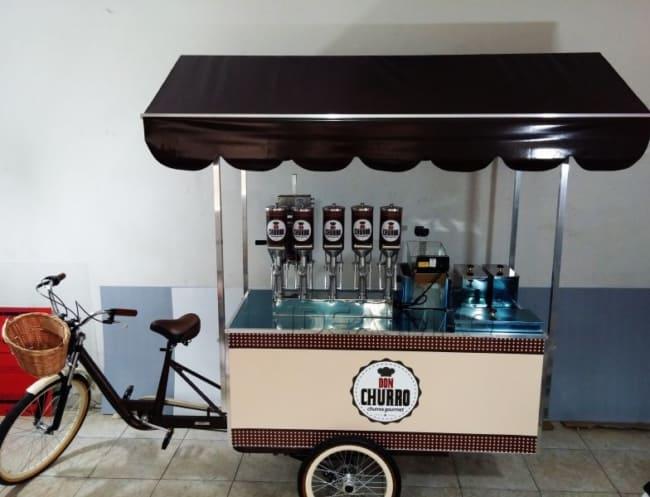 Simples e de baixo custo o food bike pode ser o diferencial para o seu negocio