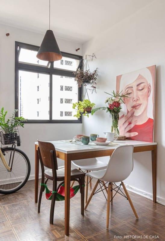 Simplicidade e modernidade em uma so decoracao