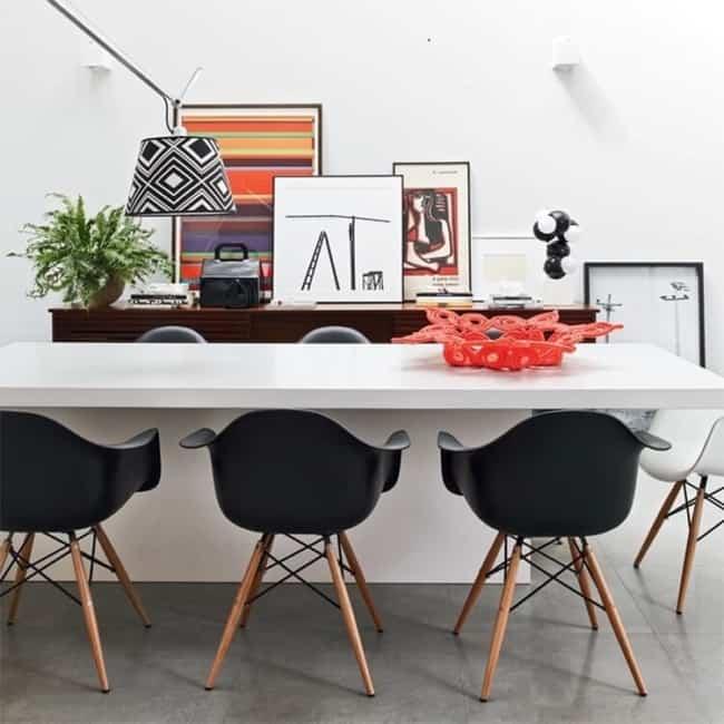 Sua beleza e charme agregam na decoracao do escritorio