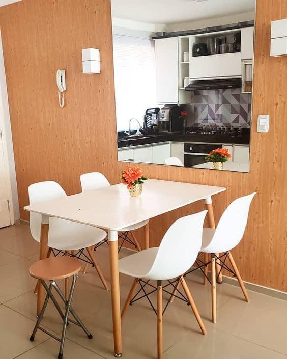 Usada em apartamentos pequenos