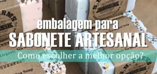 capa do post embalagem para sabonete artesanal