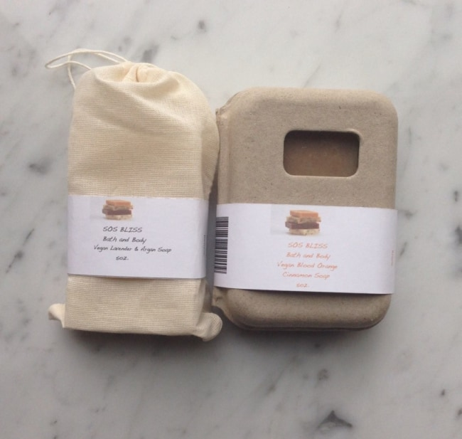 saquinho de algodao cru para sabonete