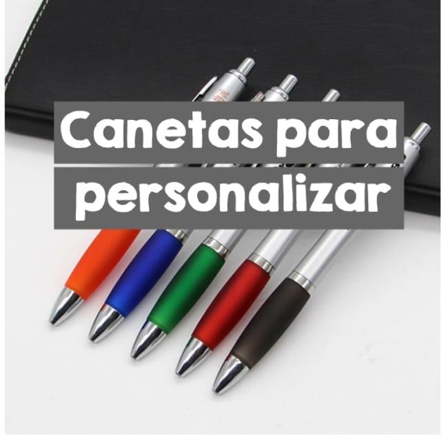 canetas para personalizar