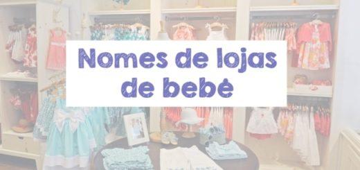 nomes de lojas de bebe