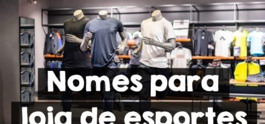 nomes para loja de esportes