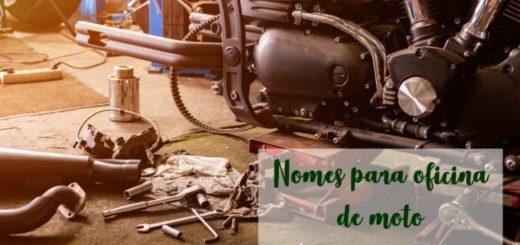 nomes para oficina de moto