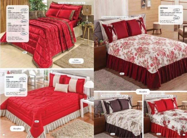 catalogo de roupa de cama