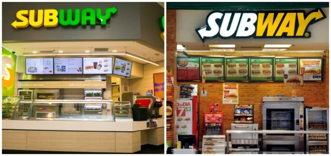 como funciona franquia Subway
