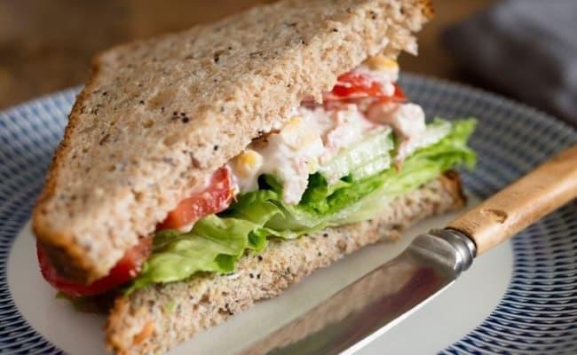 sanduiche natural de frango para vender