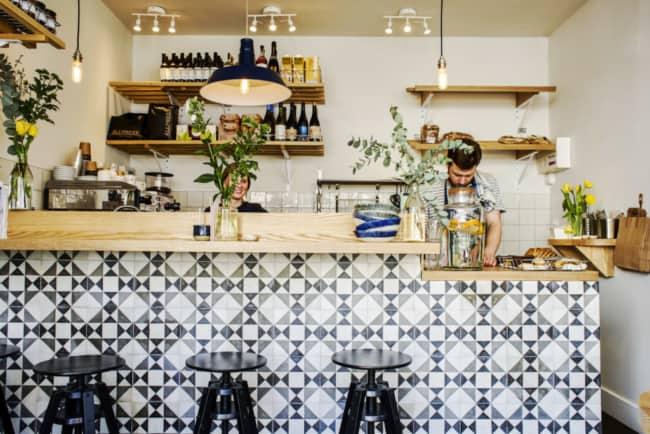 cafeteria com decoracao aconchegante