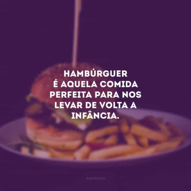 frase para hamburgueria