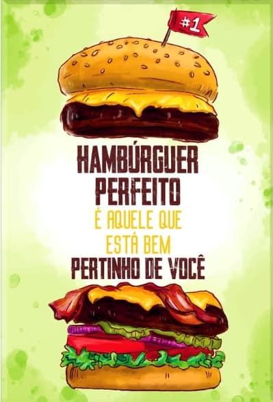 publicidade para hamburguer
