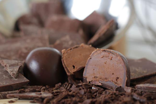 sabor de trufa de chocolate para vender