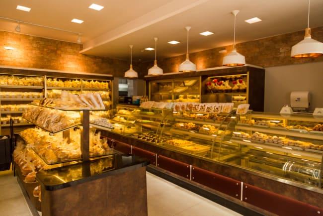 loja de biscoitos com decoracao moderna
