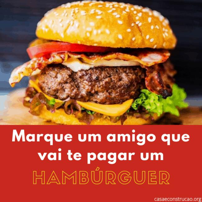 dicas para fazer propaganda de hamburguer
