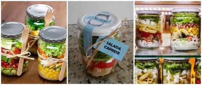 salada no pote para vender