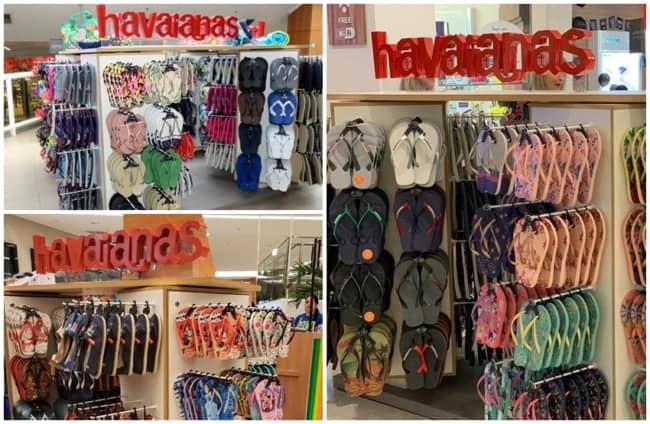 quiosque Havaianas
