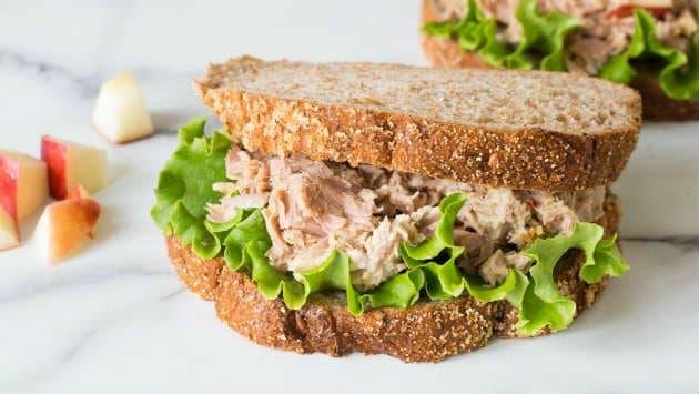 sanduiche natural de atum para vender