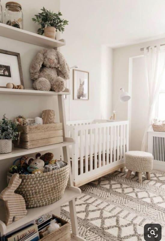 quarto de bebe off white