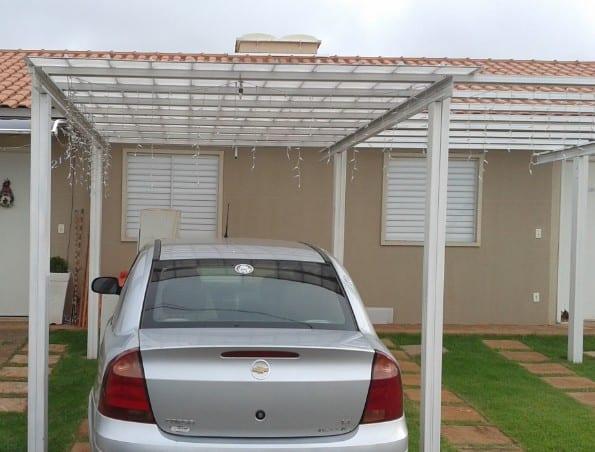 cobertura transparente para carro