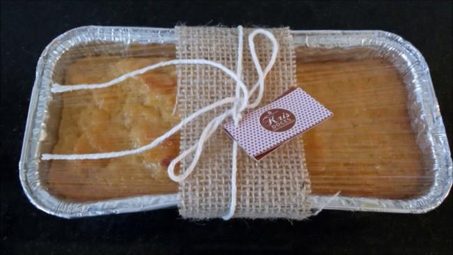 embalagem simples para bolo caseiro