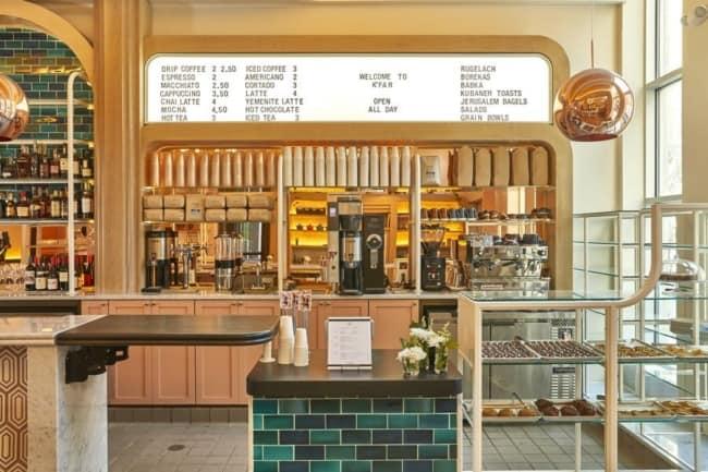 estilo vintage para cafeteria gourmet