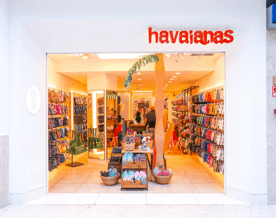 vantagens de franquia Havaianas