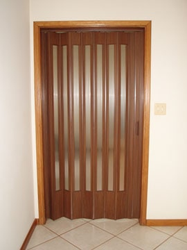 modelo de porta sanfonada