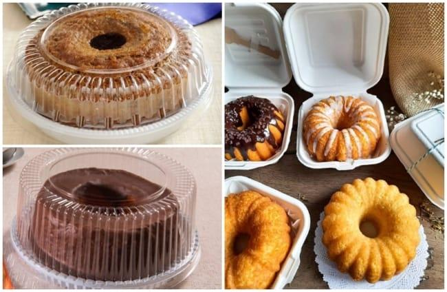 como escolher embalagem para bolo caseiro