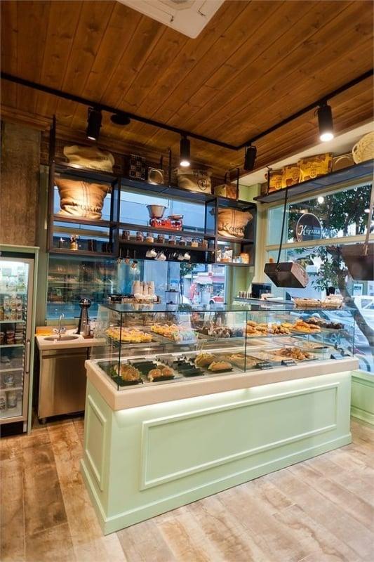 loja de biscoitos com decoracao aconchegante