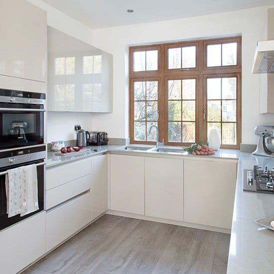 armarios de cozinha off white