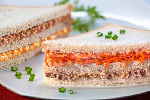 sanduiche natural de atum