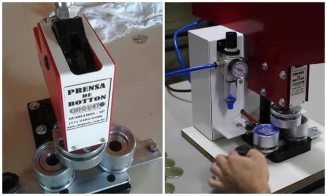 investimento em maquina de fazer bottons
