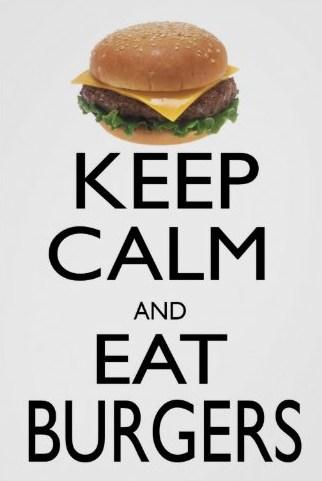 frase em ingles para hamburguer