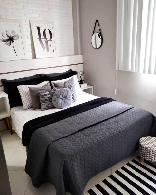 cama com decoracao moderna pb