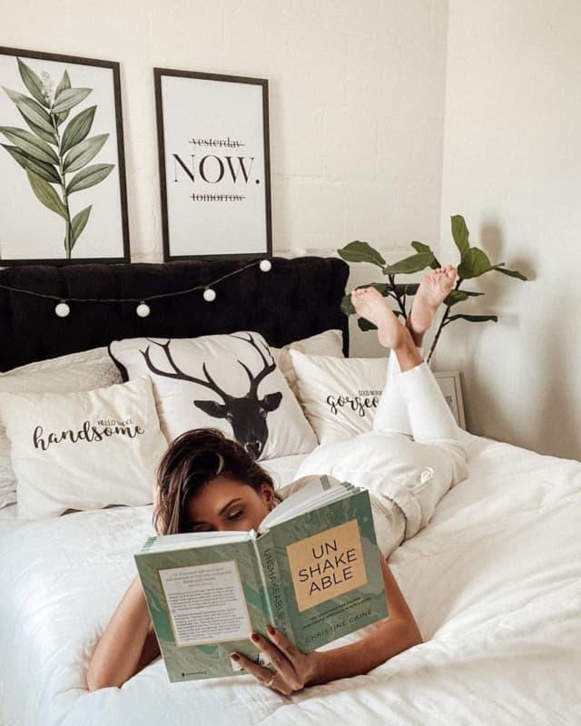 cama tumblr minimalista
