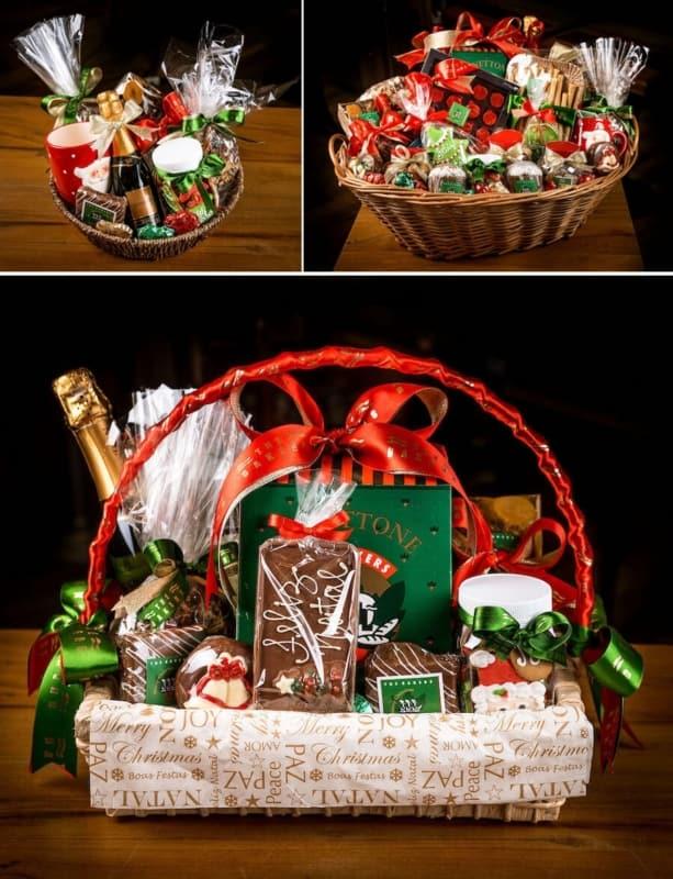 cesta de natal The Bakers