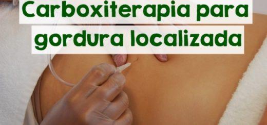 carboxiterapia para gordura localizada