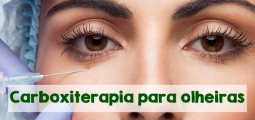 carboxiterapia para olheiras