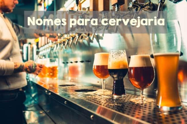 nomes para cervejaria