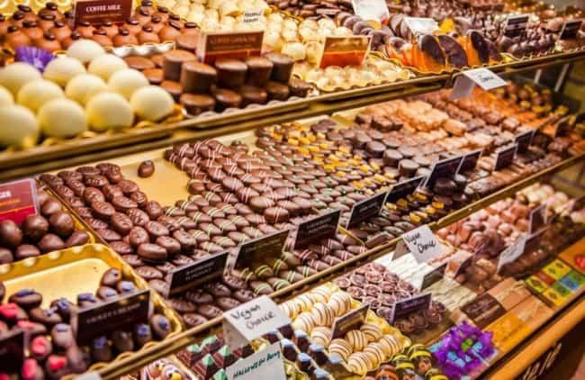 como escolher nomes para chocolateria
