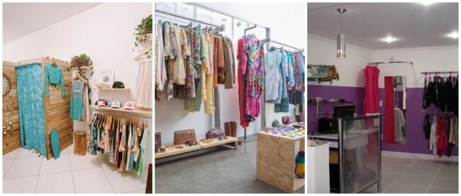 decoracao simples de loja de roupas em casa