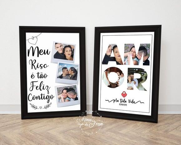 ideia de presente personalizado para vender no dia dos namorados