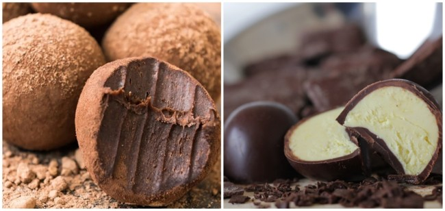 doces de chocolate para vender no frio