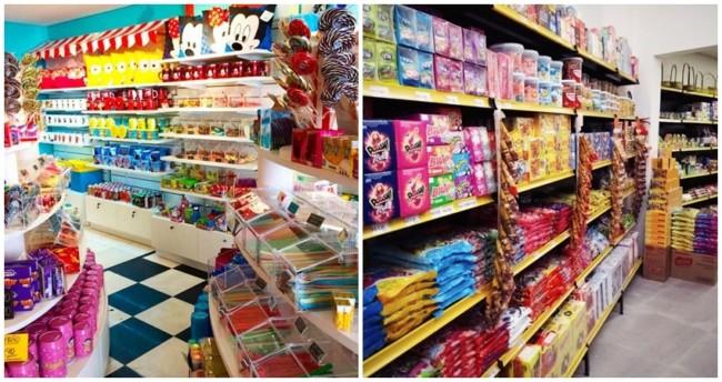 nomes criativos para lojas de doces